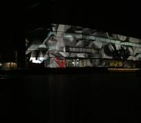"""Axioma"" 3D projection"